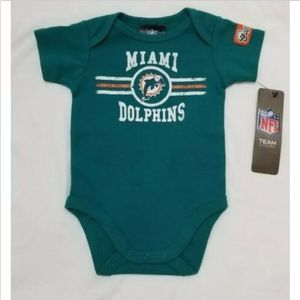 Miami Dolphins Baby Infant Bodysuit Green O-3M NFL